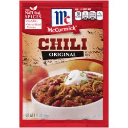 McCormick® Chili Seasoning Mix Original 1.25oz