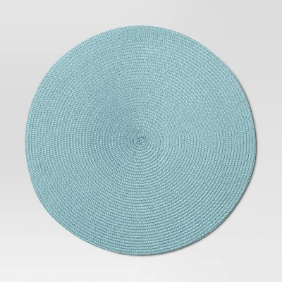 Polyround Charger Placemat Blue - Threshold™