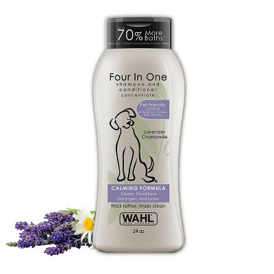 Wahl Four In One Lavender Chamomile Pet Shampoo and Conditioner 24 oz