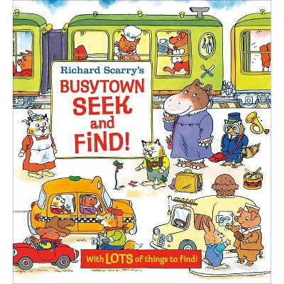 Richard Scarry's Busytown Seek and Find! - (Board Book)