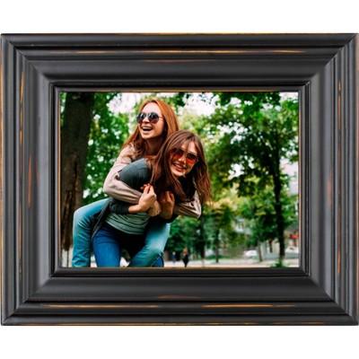 8  Digital Wood Frame Black - Polaroid