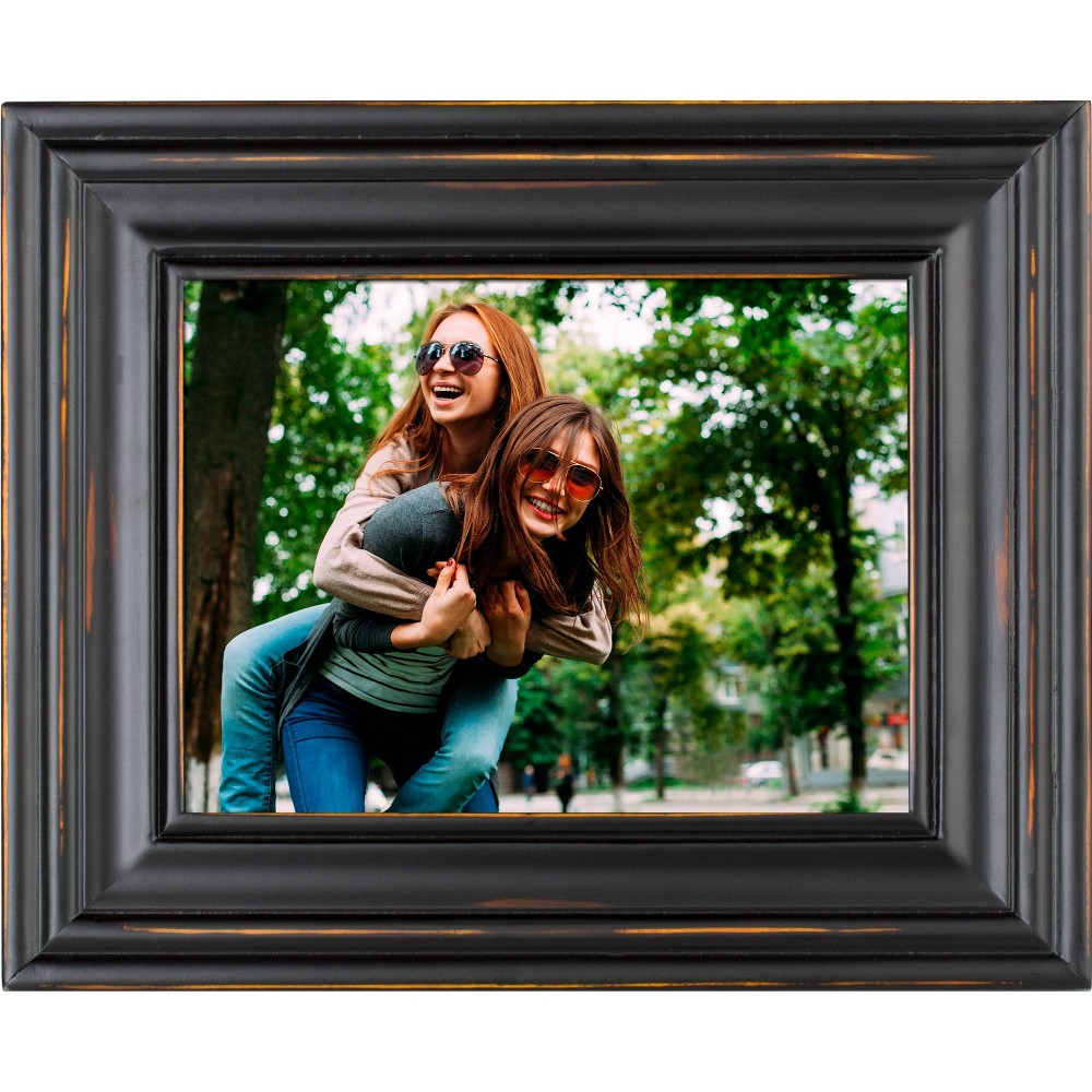 """Image of """"8"""""""" Digital Wood Frame Black - Polaroid"""""""