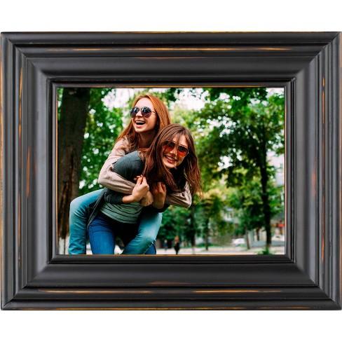 """8"""" Digital Wood Frame Black - Polaroid - image 1 of 4"""