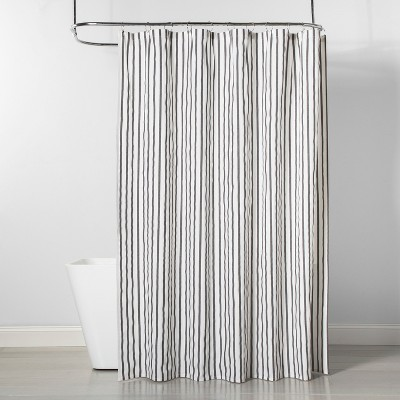 Stripe Shower Curtain Gray/White - Project 62™