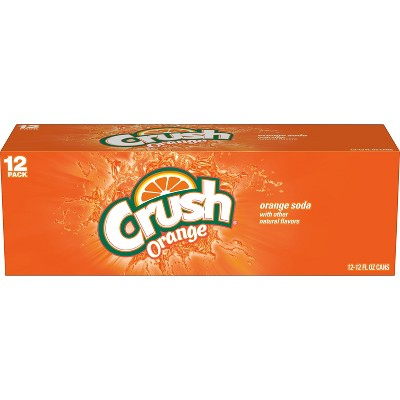 Crush Orange Soda - 12pk/12 fl oz Cans