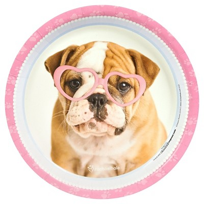 8ct Rachael Hale Glamour Dogs Dinner Plate