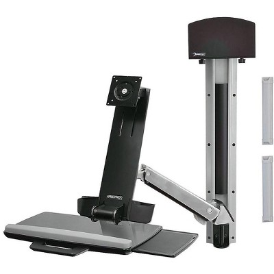 """Ergotron StyleView Monitor Mount up to 24"""" Monitors Polished Aluminum 45-273-026"""