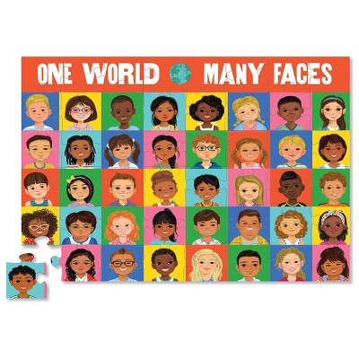 Crocodile Creek One World Many Faces Memory Game and Puzzle