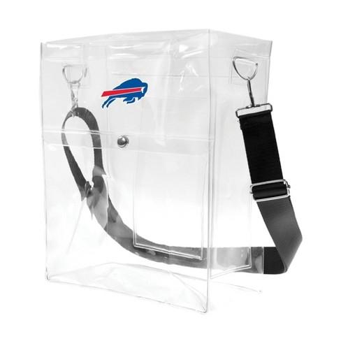 NFL Buffalo Bills Clear Ticket Satchel - image 1 of 4