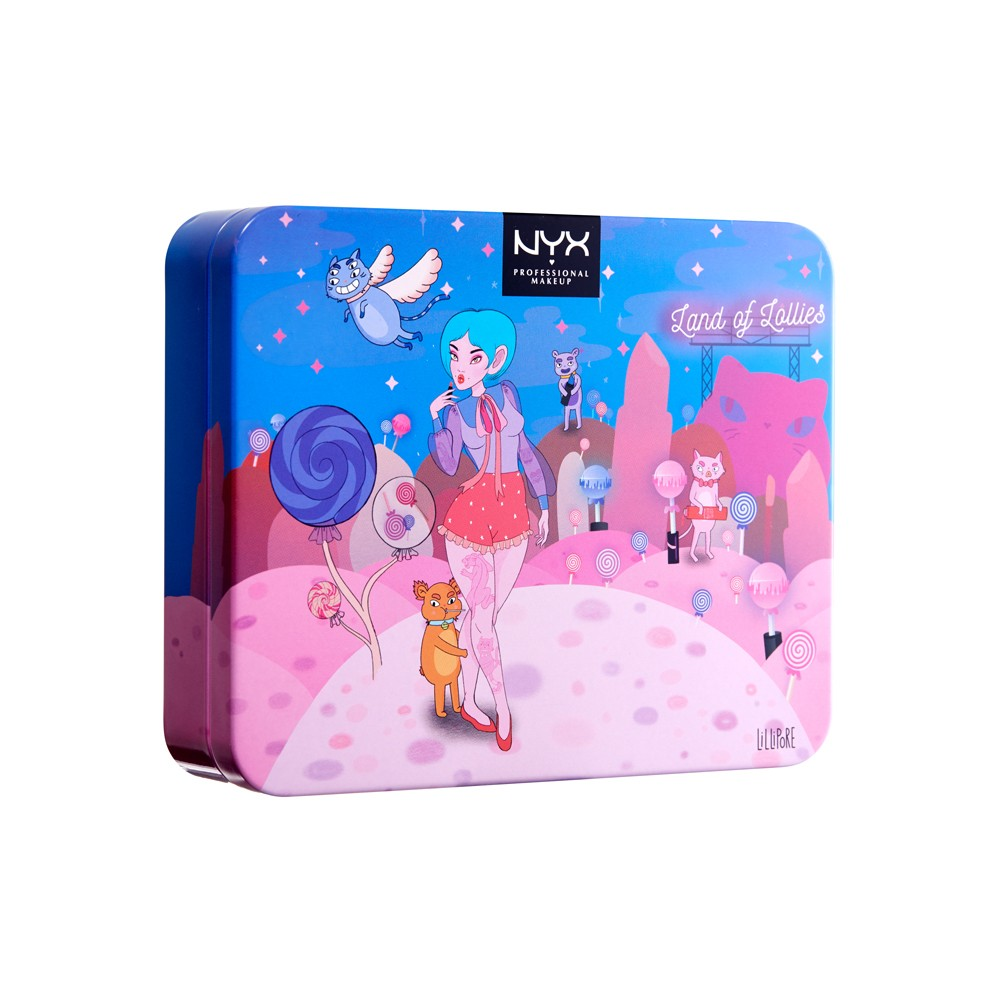 NYX Professional Makeup Land Of Lollies - Shadow Palette - 1ct