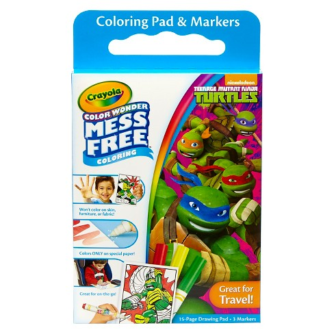 Crayola® Color Wonder Coloring Kit - Teenage Mutant Ninja Turtles ...