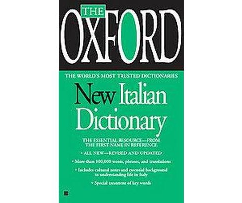 The Oxford New Italian Dictionary : Italian-english / English-italian / Italiano-inglese / - image 1 of 1