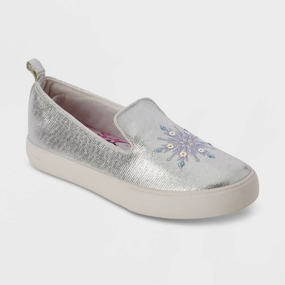 Girls' Disney Frozen Sneakers - Silver - Disney Store