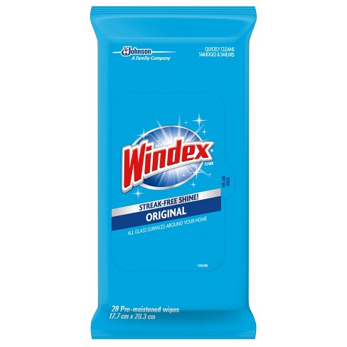 Windex Glass and Surface Wipes, Original - 28ct - image 1 of 4