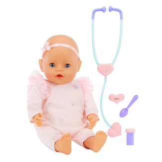 Baby Born - Mommy Make Me Better - Interactive Baby Doll - Blue Eyes