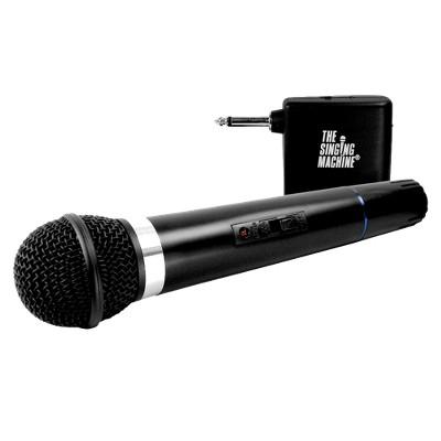 The Singing Machine Uni-Directional VHF Wireless Microphone - Black (SMM-107)