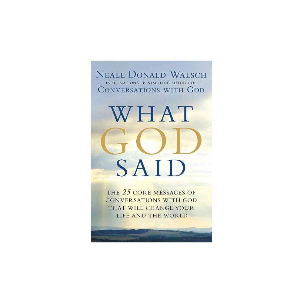 What God Said By Neale Donald Walsch Paperback