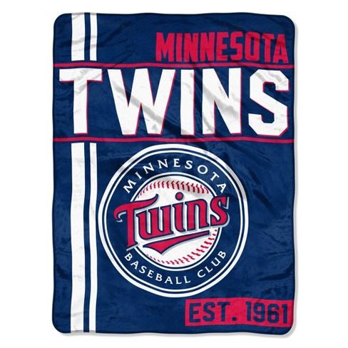 MLB Minnesota Twins Micro Fleece Throw Blanket - image 1 of 3