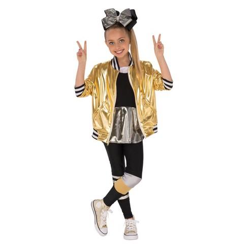 Girls' JoJo Siwa Dancer Outfit Halloween Costume - image 1 of 1