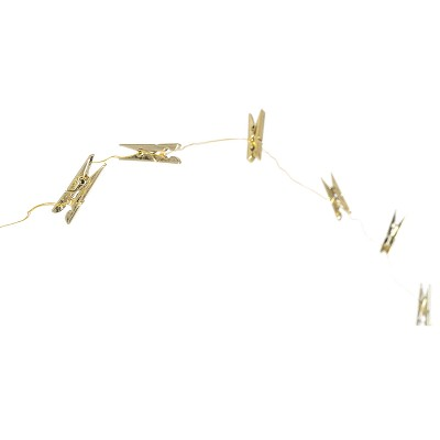 LED Fairy Lights Photo Clips Gold - Room Essentials™