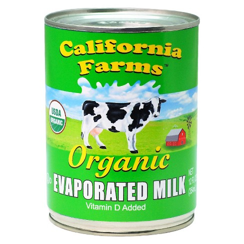 California Farms™ Vitamin D Added Organic Evaporated Milk - 12oz - image 1 of 1