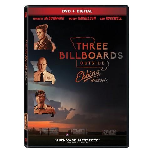 Three Billboards Outside Ebbing, Missouri (DVD + Digital) - image 1 of 1