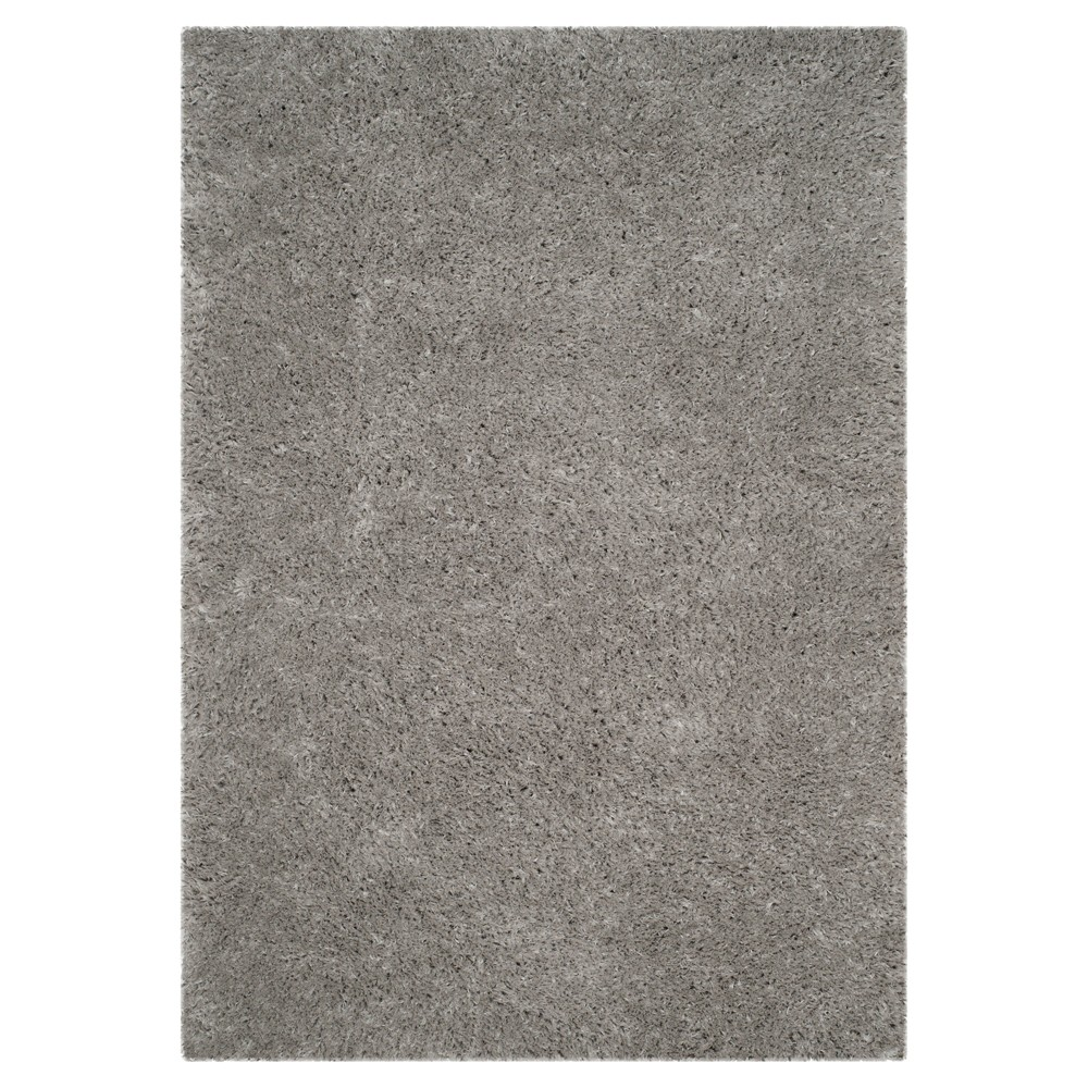 Cheap 9x12 Solid Loomed Area Rug Silver - Safavieh