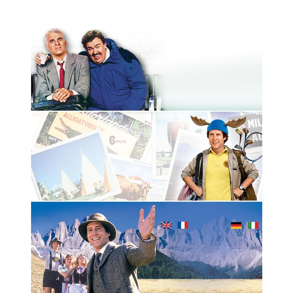 Planes, Trains and Automobiles/National Lampoon's Vacation/European Vacation [3 Discs] [Blu-ray]