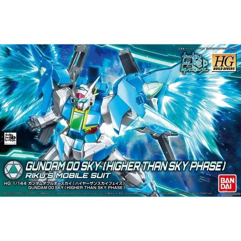 Bandai Hobby Build Divers Gundam 00 Higher Than Sky Phase HG 1/144 Model Kit - image 1 of 3