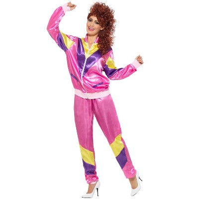Smiffy 80s Fashion Female Shell Suit Adult Costume