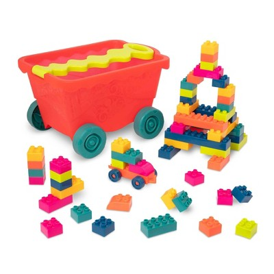 B. toys Building Blocks and Wagon Little BlocWagon