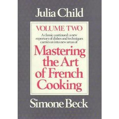 Mastering the Art of French Cooking (Vol 002)(Hardcover)(Julia Child)