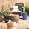 """32"""" Round Metal Outdoor LP Fire Pit - Project 62™ - image 3 of 3"""
