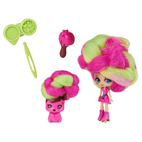 Candylocks Doll + Pet - Straw-Carrie Mudslide & Squeaky Squirrel - image 1 of 4