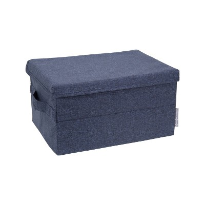 Bigso Box of Sweden Small Soft Storage Box Navy
