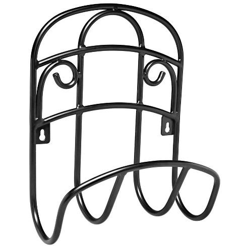 Liberty Garden 125 Foot LBG-231 Decorative Steel Hanging Hose Butler, Black - image 1 of 3