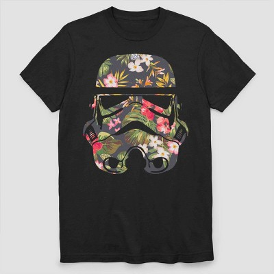 Men's Star Wars Stormtrooper Short Sleeve Graphic T Shirt   Black by Shirt