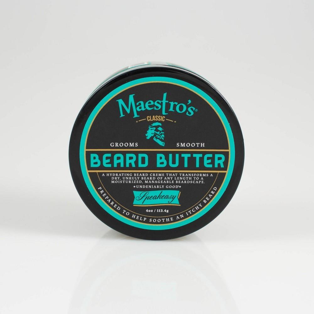 Image of Maestros Classic Speakeasy Blend Beard Butter - 4oz