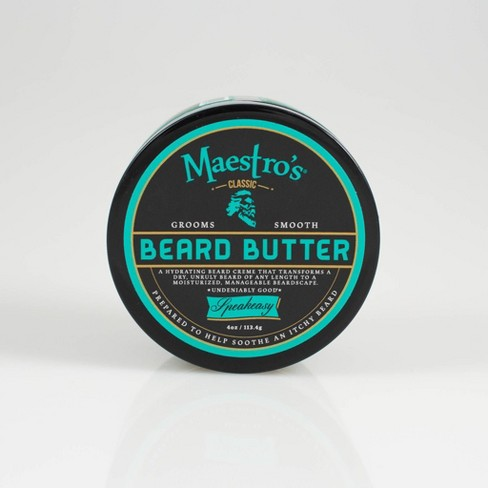 Maestro's Classic Speakeasy Blend Beard Butter - 4oz - image 1 of 4
