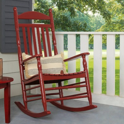 Alston Traditional Porch Rocking Chair