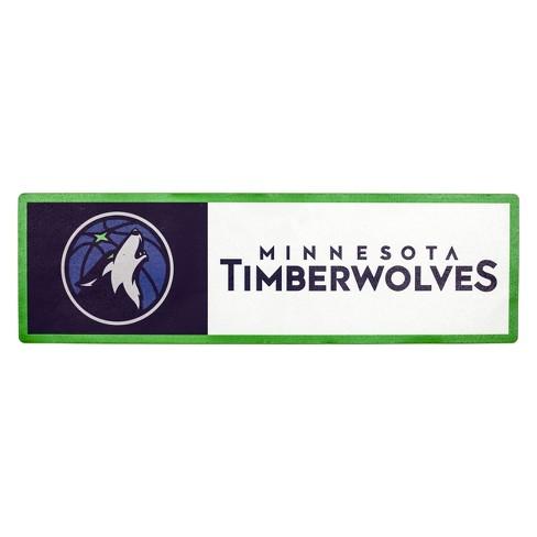 NBA Minnesota Timberwolves Outdoor Step Decal - image 1 of 1