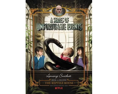 Reptile Room -  (Series of Unfortunate Events) by Lemony Snicket (Hardcover) - image 1 of 1
