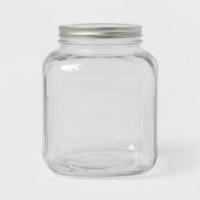 128oz Glass Jar with Metal Lid - Threshold™