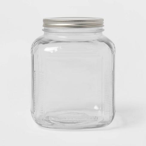 128oz Glass Jar with Metal Lid - Threshold™ - image 1 of 3