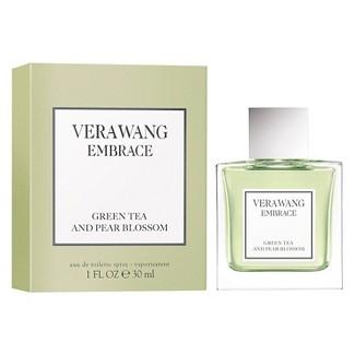 Embrace by Vera Wang Green Tea and Pear Blossom Eau de Toilette Womens Perfume - 1 fl oz