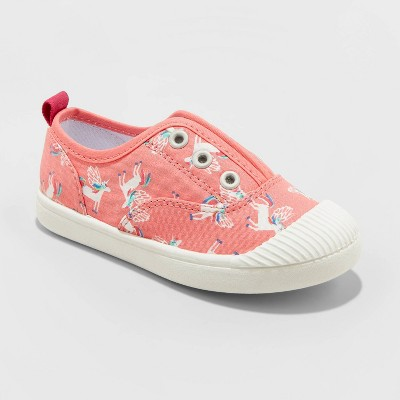 Toddler Girls' Archer Unicorn Sneakers - Cat & Jack™ Pink 4