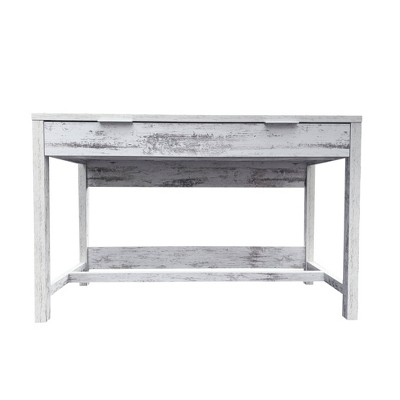 Willow Office Desk White - ACEssentials