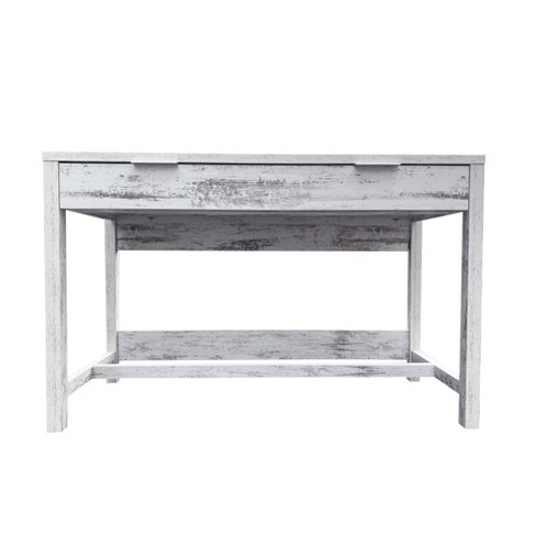 Willow Office Desk White - ACEssentials - image 1 of 4