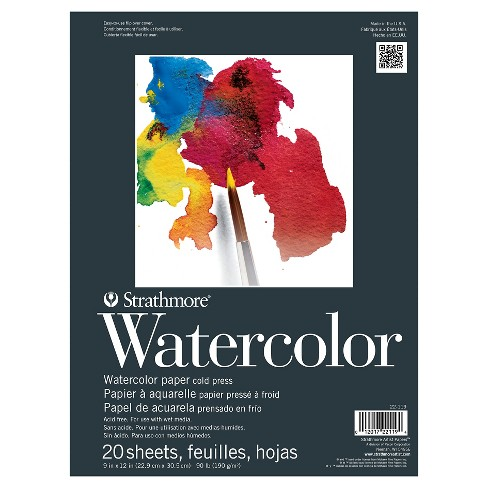 Strathmore® 9x12 Watercolor Paper Pad - 20ct - image 1 of 1