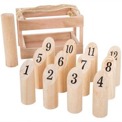 Hey! Play! Wooden Throwing Game-Complete Set